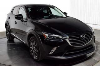 Used 2016 Mazda CX-3 GT AWD CUIR TOIT MAGS NAV CAMERA DE RECU for sale in Île-Perrot, QC