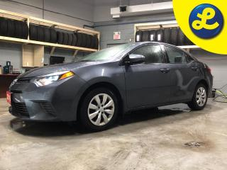 Used 2016 Toyota Corolla LE * Phone connect * Back-Up Camera * Heated front seats * Keyless entry *  Automatic with sport mode * Climate control * Hands free steering wheel co for sale in Cambridge, ON