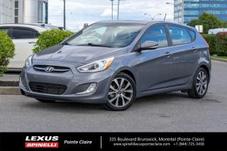 Used 2017 Hyundai Accent **GLS** *DEMARREUR A DISTANCE*BLUETOOTH*A/C*TOIT*BANCS CHAUFFANTS*GROUPE ELECTRIQUE* for sale in Montréal, QC