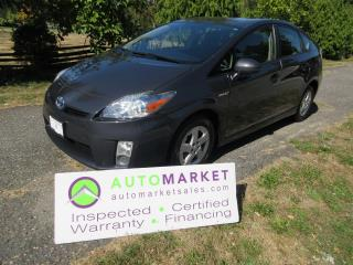 Used 2010 Toyota Prius PRIUS 5DR HATCHBACK, INSP, BCAA MBSHP, WARR, FINANCE! for sale in Surrey, BC