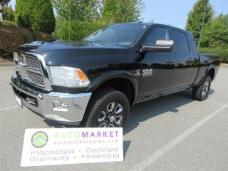 Used 2014 RAM 3500 MEGACAB, SLT, 4X4, DIESEL, INSP, BCAA MBSHP, WARRANTY for sale in Surrey, BC