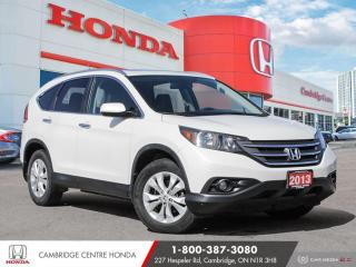 Used 2013 Honda CR-V Touring LEATHER INTERIOR | GPS NAVIGATION | PUSH BUTTON START for sale in Cambridge, ON