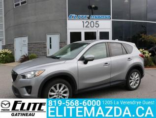 Used 2015 Mazda CX-5 GT for sale in Gatineau, QC