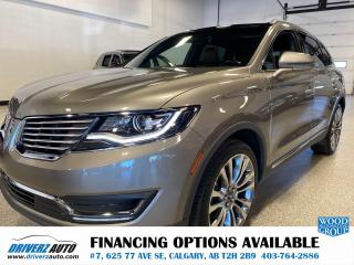 Used 2017 Lincoln MKX Reserve for sale in Calgary, AB