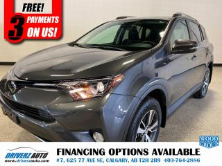 Used 2018 Toyota RAV4 XLE LANE KEEPING, SUNROOF, HEATED SEATS, AND MORE .. for sale in Calgary, AB
