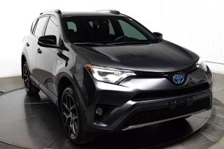 Used 2017 Toyota RAV4 HYBRID AWD CUIR NAV MAGS for sale in St-Hubert, QC