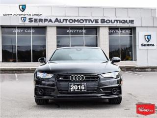 Used 2016 Audi S7 4.0T |NAV|ROOF|20S|450HP|LOWK|LUXLEATHER| for sale in Toronto, ON