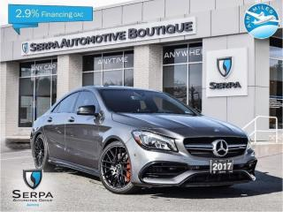 Used 2017 Mercedes-Benz AMG CLA 45 COVID-19 INSTANT CREDIT, SEE DEALER FOR DETAILS | NO PAYMENTS FOR 90 DAYS OAC for sale in Aurora, ON