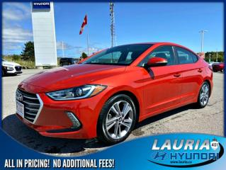 Used 2017 Hyundai Elantra GLS Auto for sale in Port Hope, ON