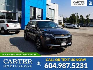 New 2021 Chevrolet TrailBlazer ACTIV MOONROOF - LEATHER - HEATED SEATS - WIRELESS CHARGING for sale in North Vancouver, BC