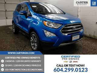 Used 2018 Ford EcoSport Titanium for sale in Burnaby, BC