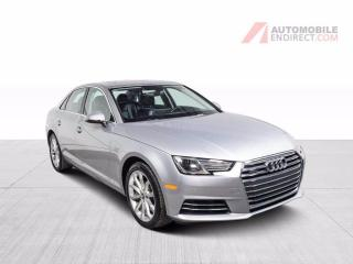 Used 2017 Audi A4 Progressiv 2.0T Quattro Cuir GPS Toit Caméra for sale in Île-Perrot, QC