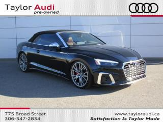 Used 2020 Audi S5 3.0T Technik for sale in Regina, SK