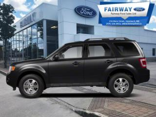 Used 2010 Ford Escape Limited 4D Utility 4WD  - Leather Seats for sale in Steinbach, MB