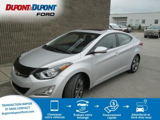 Used 2016 Hyundai Elantra Berline 4 portes, boîte automatique, GLS for sale in Gatineau, QC