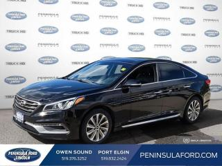 Used 2015 Hyundai Sonata Sport Tech - $115 B/W for sale in Port Elgin, ON