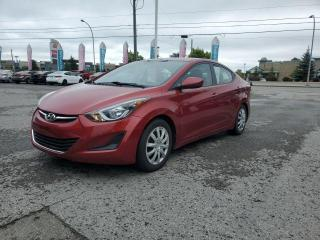Used 2015 Hyundai Elantra BLUETOOTH, CRUISE, BANCS CHAUFFANTS!!! for sale in Gatineau, QC