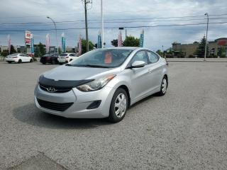 Used 2011 Hyundai Elantra BLUETOOTH, CRUISE, BANCS CHAUFFANTS!!! for sale in Gatineau, QC