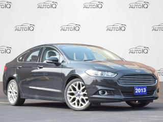 Used 2013 Ford Fusion Titanium AS IS | ALL WHEEL DRIVE | LEATHER | SUNROOF | GPS | BACKUP CAM | HEATED SEATS for sale in Waterloo, ON