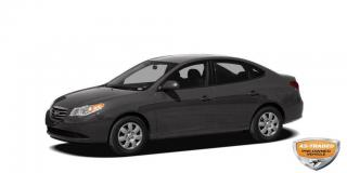 Used 2010 Hyundai Elantra Limited AS IS | AUTOMATIC | LEATHER | HEATED SEATS | POWER WINDOWS/LOCKS | DUAL ZONE A/C for sale in Waterloo, ON