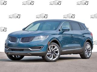 Used 2016 Lincoln MKX Reserve RESERVE EDITION !! CERTIFIED!1 for sale in Hamilton, ON