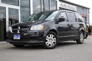 Used 2016 Dodge Grand Caravan SE/SXT CLEAN GREAT CONDITION for sale in Chatham, ON