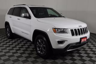 Used 2016 Jeep Grand Cherokee Limited 4X4, MOONROOF, 8.4-INCH TOUCHSCREEN, NAVIGATION for sale in Huntsville, ON