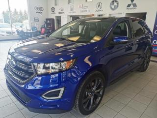 Used 2015 Ford Edge SPORT / AWD / TOIT PANORAMIQUE / CUIR / for sale in Sherbrooke, QC
