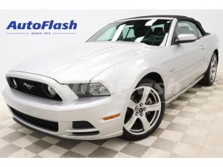 Used 2014 Ford Mustang GT *CONVERTIBLE *5.0L *V8 *CUIR *CRUISE *A/C for sale in St-Hubert, QC
