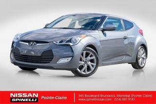 Used 2017 Hyundai Veloster 1.6L 1.6 L / AUTOMATIQUE / BONNE CONDITION for sale in Montréal, QC