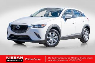 Used 2017 Mazda CX-3 GX AWD AWD / GPS EN OPTION / SKY ACTIVE / CAMERA RECULE  / BAS KILOMETRAGE for sale in Montréal, QC