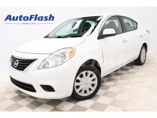 Used 2012 Nissan Versa SV *AUTO *BERLINE *A/C *GR-ELECTRIQUE *CRUISE for sale in St-Hubert, QC