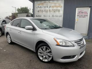 Used 2014 Nissan Sentra ***SL,BAS KILO,CUIR,TOIT,NAV,MAGS*** for sale in Longueuil, QC
