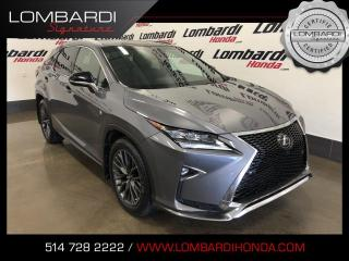 Used 2016 Lexus RX 350 FSPORT 3|AWD|CUIR|TOIT| for sale in Montréal, QC