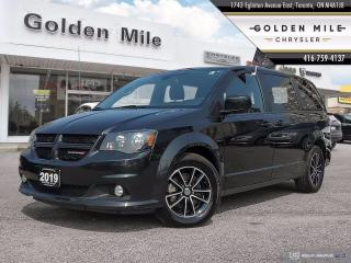 Used 2019 Dodge Grand Caravan GT Ex Rental, Well maintained, Leather, Back up Camera for sale in North York, ON