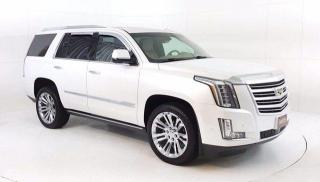 Used 2018 Cadillac Escalade Platinum AWD, 6.2L V8 Power Moonroof, Navi. DVD, H for sale in Winnipeg, MB