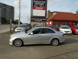 Used 2009 Mercedes-Benz C-Class 2.5L/ 4MATIC / LEATHER / ALLOYS / MINT / ONE OWNER for sale in Scarborough, ON