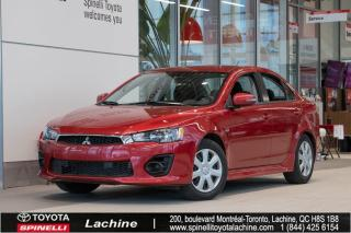 Used 2017 Mitsubishi Lancer ES BAS MILEAGE! for sale in Lachine, QC