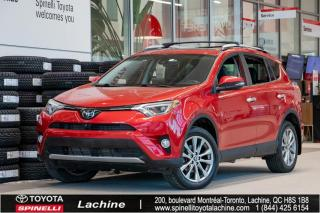 Used 2016 Toyota RAV4 Limited CAMERA 360! BLUETOOTH! JBL for sale in Lachine, QC