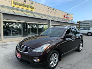 Used 2010 Infiniti EX35 AWD 4DR for sale in North York, ON