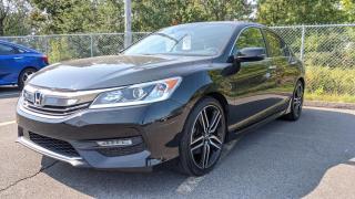 Used 2017 Honda Accord Sport I4 4 portes CVT avec Honda Sensing for sale in Sorel-Tracy, QC