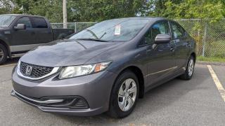 Used 2015 Honda Civic manuelle, LX for sale in Sorel-Tracy, QC