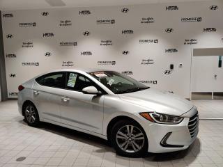 Used 2018 Hyundai Elantra GL AUTOMATIQUE **JAMAIS ACCIDENTÉ** for sale in St-Eustache, QC