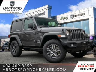 New 2021 Jeep Wrangler Sport S  - $281 B/W for sale in Abbotsford, BC