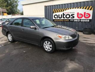 Used 2002 Toyota Camry 4dr Sdn LE for sale in Laval, QC
