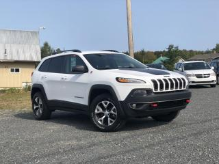 Used 2018 Jeep Cherokee TRAILHAWK 4X4 GPS CUIR MAGS for sale in St-Malachie, QC