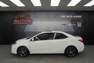 Used 2016 Toyota Corolla LE UPGRADE CVT AUTO MAGS TOIT OUVRANT 49 923 KM !! for sale in Lévis, QC