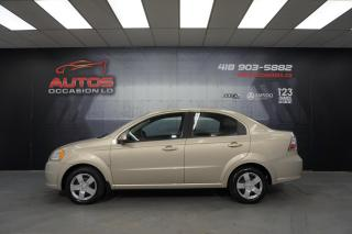 Used 2009 Chevrolet Aveo AVEO LS * BAS KILOMETRAGE *  SEULEMENT 69 989KM for sale in Lévis, QC
