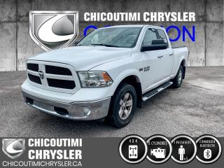 Used 2014 RAM 1500 Cabine quad 4RM, 140,5 po Outdoorsman for sale in Chicoutimi, QC
