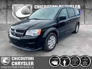 Used 2017 Dodge Grand Caravan Ensemble Valeur plus familiale 4 portes for sale in Chicoutimi, QC
